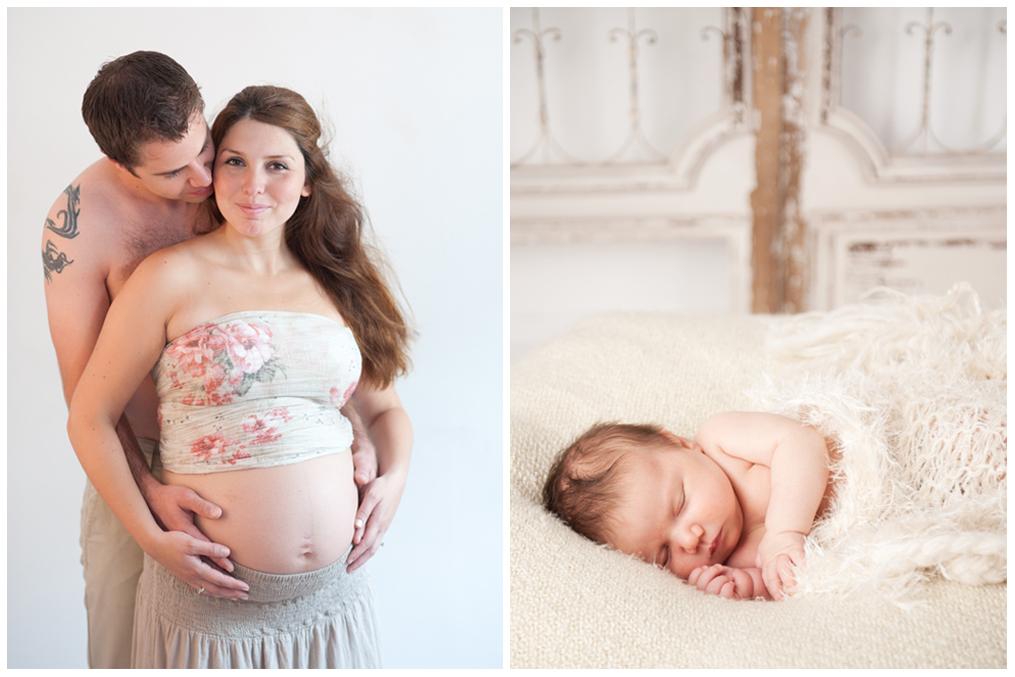 Gravid och nyfödd