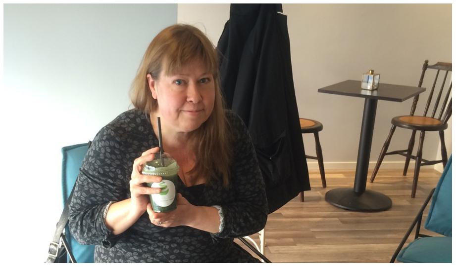 Magpodden på Olssons Juice, Stockholm