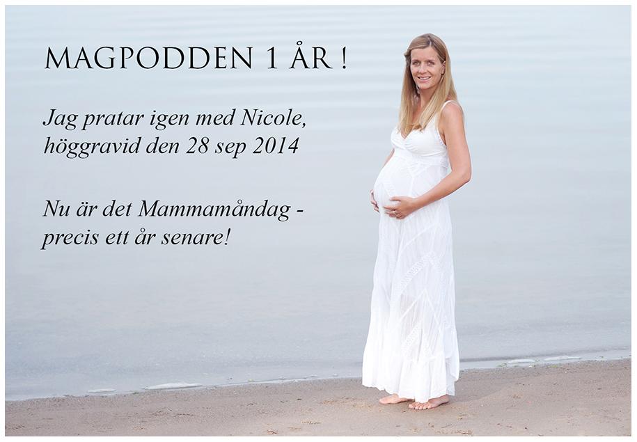Magpodden 1 år - Mammamåndag