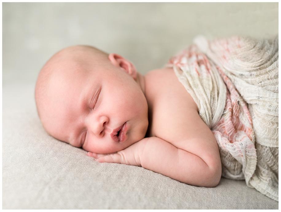 Karinas bebis  på MAgpoddens förlossningsfredag
