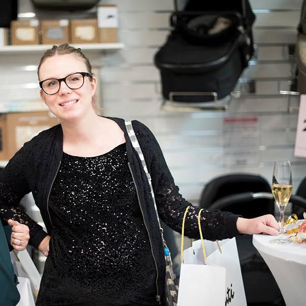 Anna Lavfors på Bontis 25-årsjubileum.